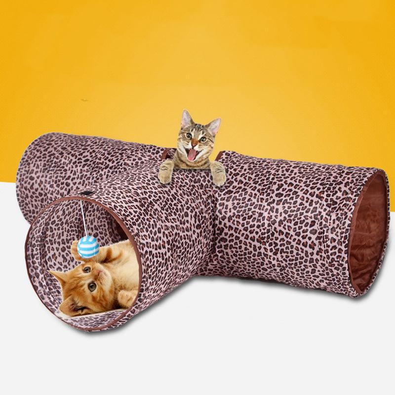 Тоннели для кошек: еще одна забава в копилку